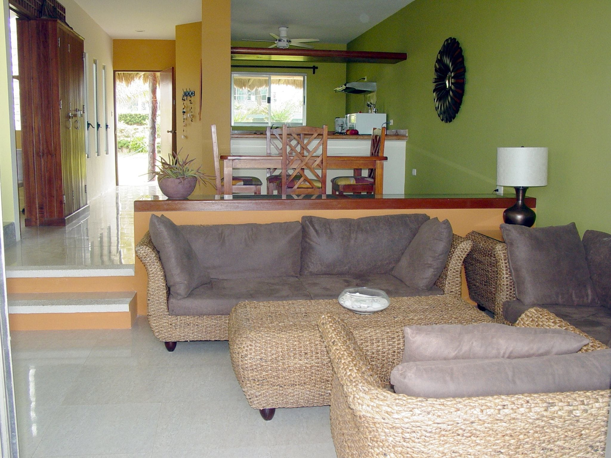 Casita B - Living Room, Dining Area, and Kitchen