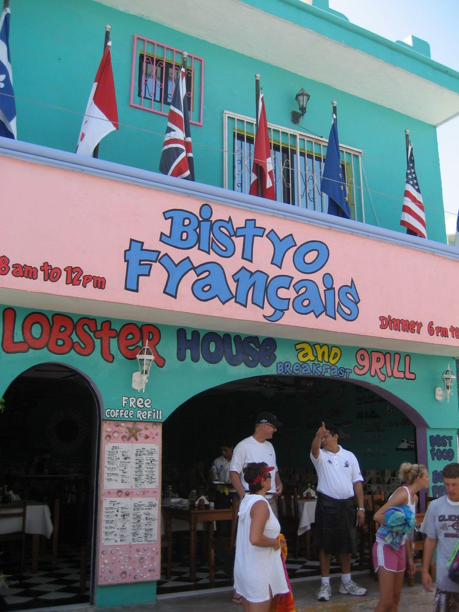 Isla Mujeres - Bistro Francais Restaurant