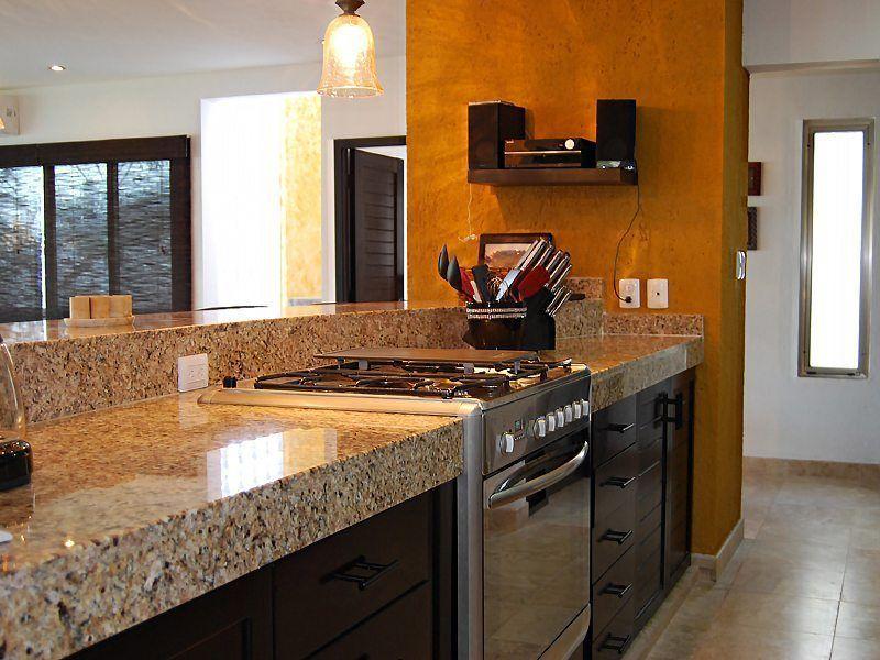 Main Villa Kitchen - Isla Mujeres Rental