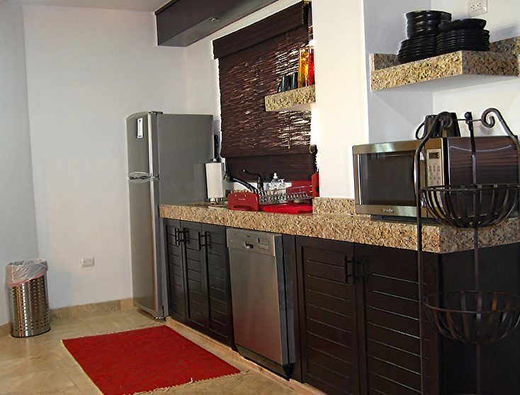 Main Villa Kitchen - Isla Mujeres Vacation Rental