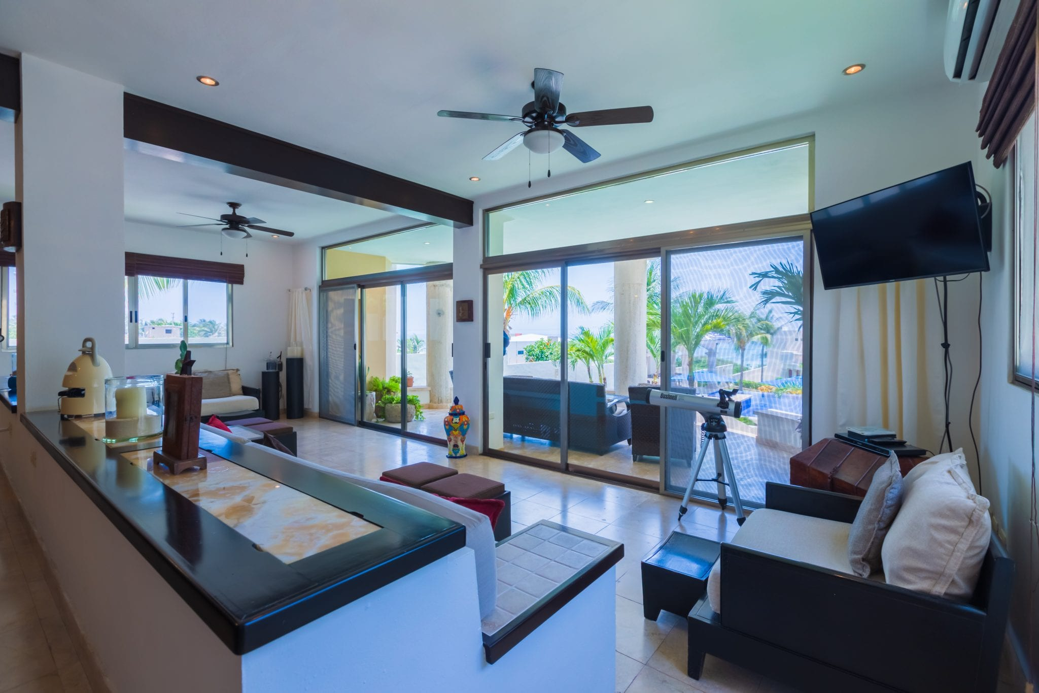 Main Villa - Living Room